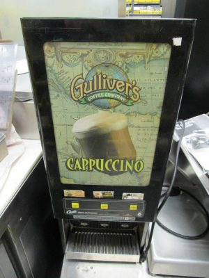 Curtis Hot Chocolate Cappucino Machine