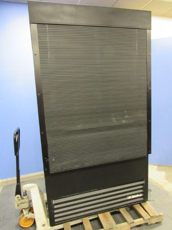 True Tac 48 Open Air Cooler Display Merchandiser With