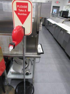 Turn O Matic Ticket Dispenser