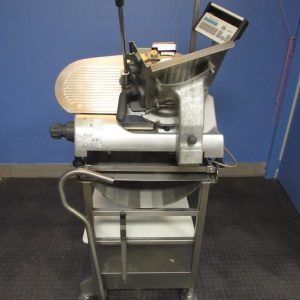 Hobart 2812 Manual Slicer with Stand & Scale