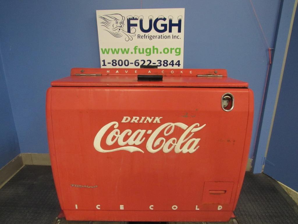 Vintage Coca Cola WD-12 Cooler - Brand New Refrigeration!! Works great!!