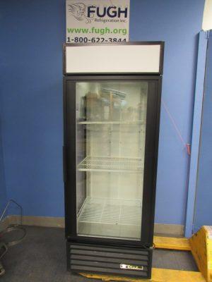True GEM-26 3 sided glass Cooler