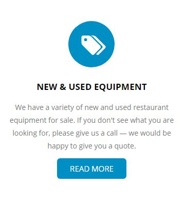 New & Used Restaurant Equipment