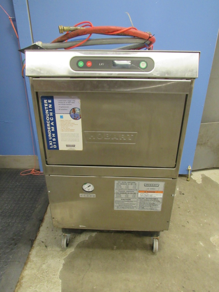 Hobart LXiGH High Temperature Commercial Dishwasher 480V 3 Phase