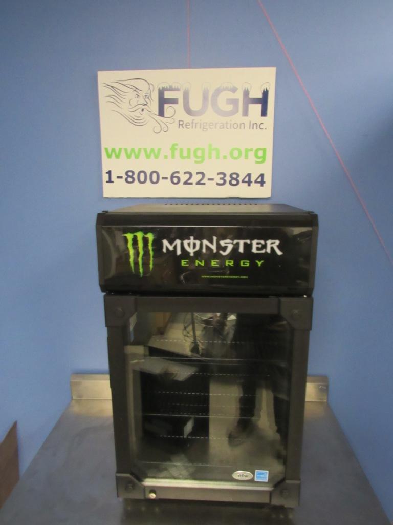IDW G-6CB Monster Beverage Counter Top Cooler / Refrigerator