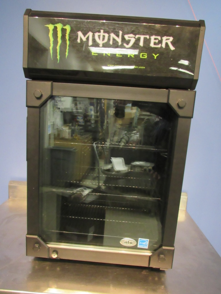 IDW G-6CB Monster Beverage Counter Top Cooler / Refrigerator