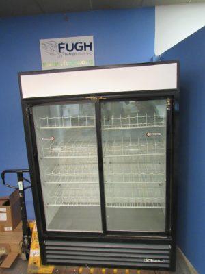 True GDM-47 2 Door Slide Glass Door Cooler