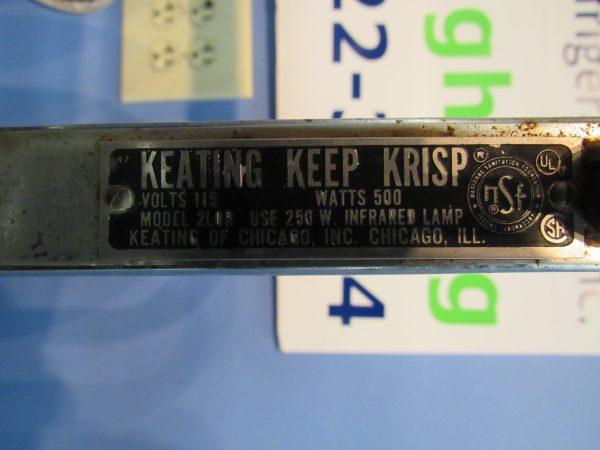 Keating Keep Krisp Lamp - Heat Lamp