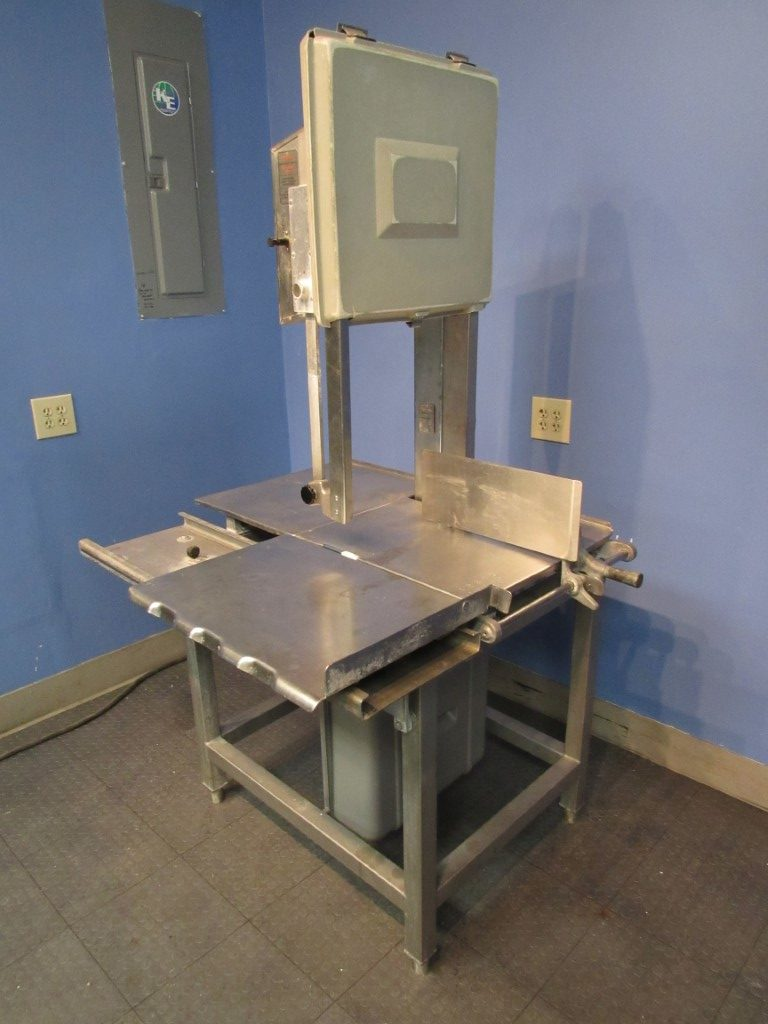 Hobart 5801 Meat Saw with new blade (3)